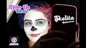 skelita calaveras makeup tutorial you