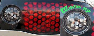 Pontiac Firebird Reverse Light Honeycomb Decals Overlays 6 Honeycomb 12 95 House Of Grafx Your One Stop Vinyl Graphics Shop