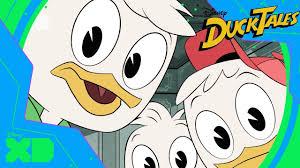 ducktales meet huey dewey and louie