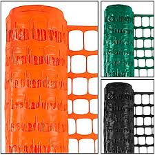 Plastic Safety Fence Snow Fence Construction Fence In Stock Uline