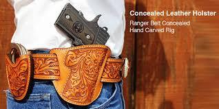 custom gun leather holsters rigs