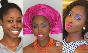 how to apply makeup in nigeria