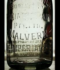 vintage glass victorian milk bottle