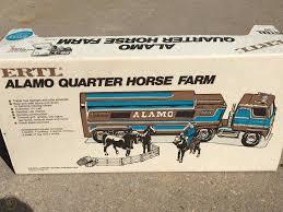 New Rare Ertl Alamo Quarter Horse Farm Semi W Trailer Accessories W Box 1821846238
