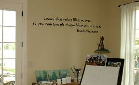 Picasso Wall Decal Trading Phrases