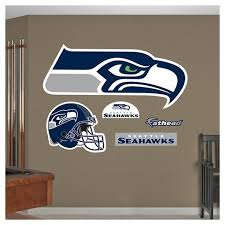 Nfl Fathead Junior Wall Decal 52 X 4 X 15 Seattle Seahawks Target