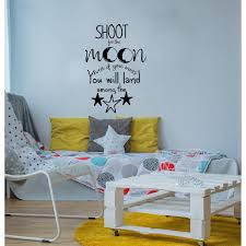 Shop Shoot For The Moon Even If You Miss You Will Land Among The Stars Decal Overstock 32025672