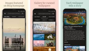 bing wallpaper changes your phone