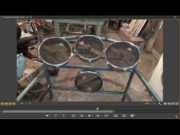 electronic drumkit part8 drum rack