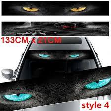 New Cool 3d Transparent Car Front Windscreen Windshield Window Decal Vinyl Sticker Wish