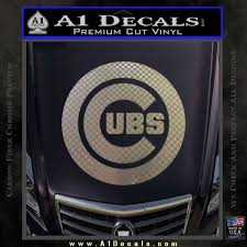 Cubs Decal Sticker Chicago A1 Decals