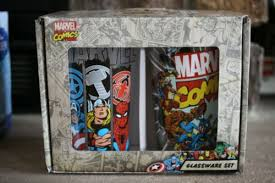 marvel glasses cups mugs militaria us