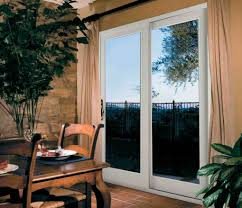 sliding patio doors with built in mini