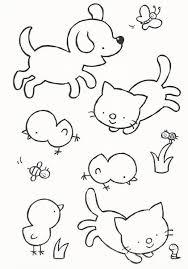 Kleurplaat Huisdieren Met Afbeeldingen Huisdieren