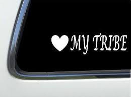 Raising My Tribe 6 Car Vinyl Sticker Decal Arrow Vintage Gypsy Soul Heart D43 Home Furniture Diy Wall Decals Stickers Home Furniture Diy Home Decor Items