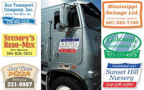 Truck Door Decals Stickers Labels For Truck Trailers Visigraph
