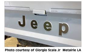 Graphic Express 1986 92 Jeep Comanche Mj Pickup Tailgate Letter Decal Set