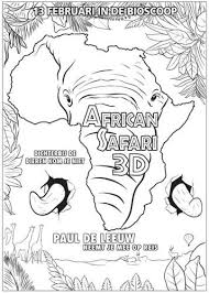 Kids N Fun 1 Kleurplaten Van African Safari 3d