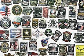 50pcs Military Sticker Us Army Decals Navy Veteran Stickers Veterans Day Sticker For Car Rear Windows Safety Helomet Decals Amazon Com