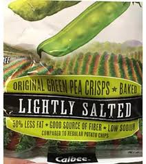 harvest snaps lightly salted snapea