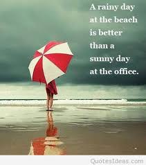 a rainy day quote picture
