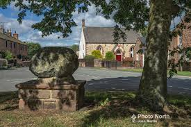 PHOTO NORTH | TEMPLE SOWERBY 05A - The Wesley Stone and Wesleyan Chapel