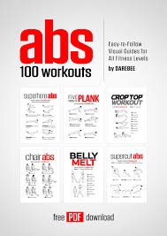 abs 100 workouts by darebee