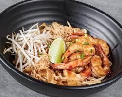 pad thai crevette vermicelles de riz