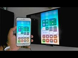 screen mirroring with iphone ios 11