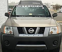 Amazon Com Jis Decals Generic Nissan Xterra Windshield Decal 44 Inch Wide White Home Improvement