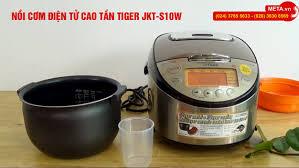 Nồi cơm điện tử cao tần Tiger JKT-S10W - Nấu cơm ngon nhất, hàng chính hãng  Made in Japan - Nồi cơm điện tử cao tần