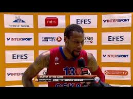 Player of the Game: Sonny Weems, CSKA Moskow - video dailymotion