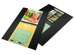 t nutrition flyer template