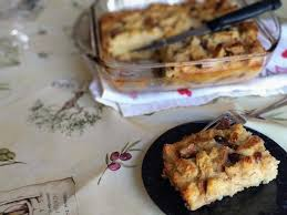 Image result for pudding au pain rassis