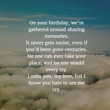 sweet birthday quotes for dead husband enkiquotes sweet