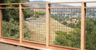 Nice Hog Wire Fence To Compliment Surrounding Fence But With A Bit More Sophistication Hog Wire Fence Diy Garden Fence Backyard Fences