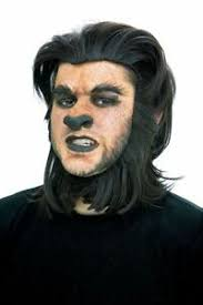 wolf dog prosthetic makeup costume