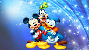mickey mouse donald duck and pluto
