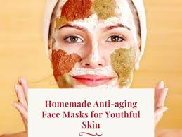 anti aging face masks for youthful skin