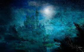 magic castle wallpaper 698812