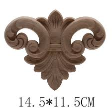 Carved Wooden Doors Wood Applique Wood Frame Wood Decal Onlay Ornamental European Floral Wooden Cabinet For Furniture Legs Doors Statues Sculptures Aliexpress