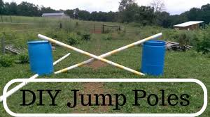 make your own jump poles diy jump