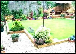 wooden garden edging wood ideas