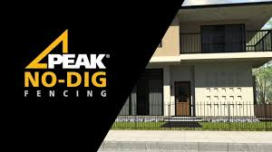 Peak No Dig Fencing Installation Youtube