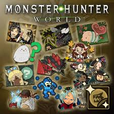 Monster Hunter World Complete Sticker Pack