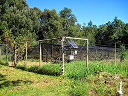 solar powered electric fence kit for