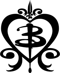 Buffy B In Heart Stake From Buffy The Vampire Slayer Car Window Decal Sticker Buffy Tattoo Slayer Tattoo Buffy The Vampire Slayer