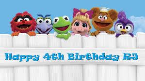 Muppet Babies Edible Cake Topper Decoration Fiesta Cumpleanos