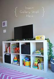 Proper Hunt Home Updates Cora S Playroom Tv Stand Toy Storage Kids Tv Stand Ikea Tv Stand