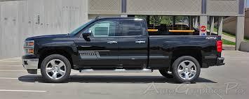 2014 2017 2018 Chevy Silverado Side Stripes Shadow Truck Decals 3m Vinyl Graphics Lower Door Kit